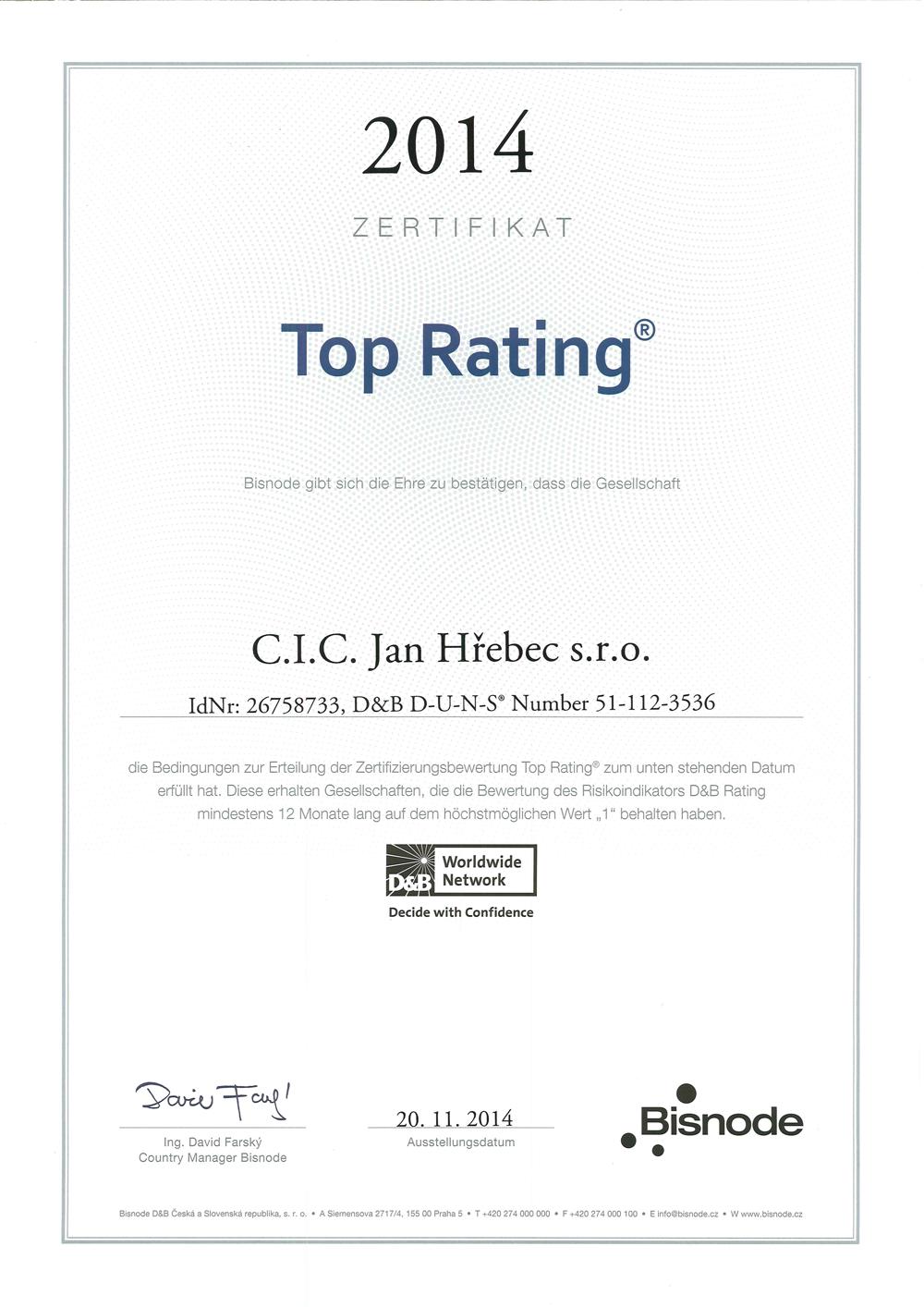 Top ratingDE